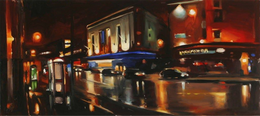 Unknown Artist Odeon and Oxford Street 2004 by Liam Spencer