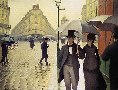 Gustave Caillebotte Paris Street Rainy Weather