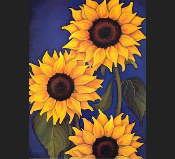 Unknown Artist Sunflowers by Will Rafuse
