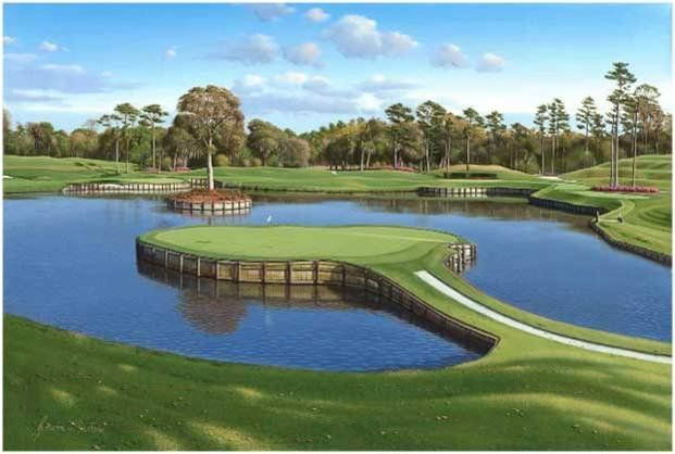 Unknown Artist TPC Sawgrass