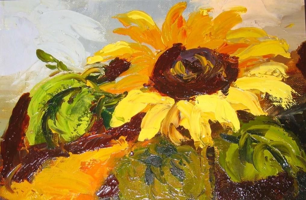 Unknown Artist sunflower II