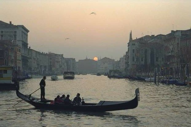 Unknown Artist venice sunset