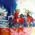 Horse Racing paintings - hosr06 by Unknown Artist