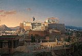 Unknown Artist Acropolis of Athens by Leo von Klenze painting