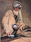 Unknown Artist Afghan Tea painting