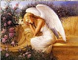 Unknown Artist Angel at Rest by Tadiello painting