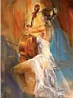 unknown artist Anna Concerto painting
