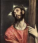 Unknown Artist Christ Carrying the Cross painting