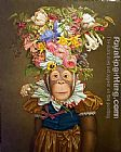 Unknown Artist Dress Monkey 1 painting