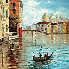 Venice paintings - KNI-067 by Unknown Artist
