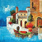 Venice paintings - KNI-068 by Unknown Artist