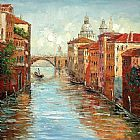 Venice paintings - KNI-071 by Unknown Artist