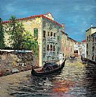 Venice paintings - KNI-212 by Unknown Artist