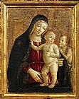 unknown artist Madonna con Bambino e San Giovannino by Bartolo painting