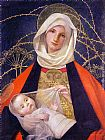 Unknown Artist Marianne Stokes Madonna and Child painting