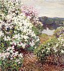 Unknown Artist Metcalf Mountain Laurel painting