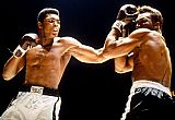 Boxing paintings - Muhammad Ali Boxing Fights by Unknown Artist