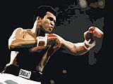 Pop Art paintings - Muhammad Ali pop art by Unknown Artist