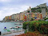 Venice paintings - Portovenere Italian Riviera by Unknown Artist