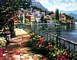 Unknown Artist Sunlit Stroll painting
