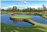 Unknown Artist TPC Sawgrass painting