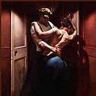 Unknown Artist Tango Rouge by Hamish Blakely painting