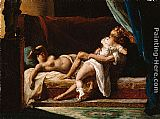 Unknown Artist Three Lovers painting