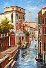 Venice paintings - V001 by Unknown Artist