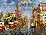 Venice paintings - V003 by Unknown Artist