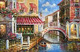 Venice paintings - V006 by Unknown Artist