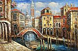 Venice paintings - V009 by Unknown Artist