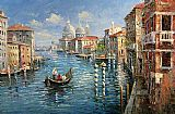 Venice paintings - V012 by Unknown Artist
