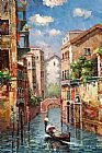 Venice paintings - V014 by Unknown Artist