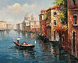 Venice paintings - V015 by Unknown Artist