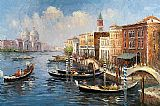 Venice paintings - V016 by Unknown Artist