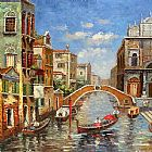 Venice paintings - V022 by Unknown Artist
