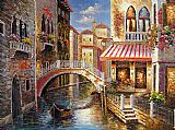 Venice paintings - V024 by Unknown Artist
