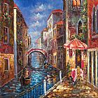 Venice paintings - V027 by Unknown Artist