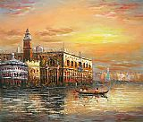 Venice paintings - V029 by Unknown Artist