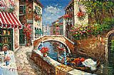 Venice paintings - V030 by Unknown Artist
