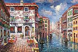 Venice paintings - V031 by Unknown Artist