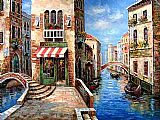 Venice paintings - V035 by Unknown Artist