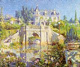Unknown Artist cooper A California Water Garden at Redlands painting