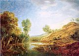 Unknown Artist peeters Landscape with Hills painting
