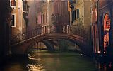 Venice paintings - quite dusk by Unknown Artist