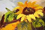 Unknown Artist sunflower II painting