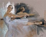 Vicente Romero Redondo ballet dancer painting