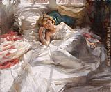 Vicente Romero Redondo sweet dream painting