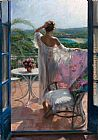 Vicente Romero Redondo vacation painting