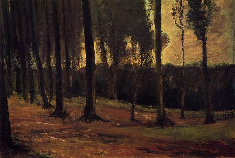 Vincent van Gogh Edge of a Wood